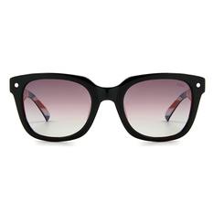 MINI 偏光太陽眼鏡 經典英國旗威靈頓框│亮黑