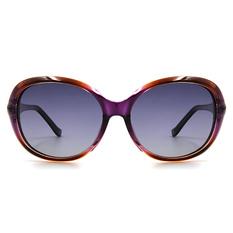 HORIEN 海洋星砂鑽橢圓框│金淬紫