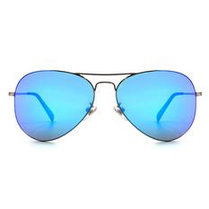 HORIEN 時尚復古細緻飛官框│炫彩藍