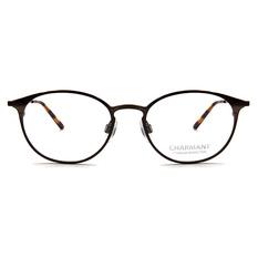 CHARMANT β-鈦 古典現代框 ▏玳瑁棕/棕銅
