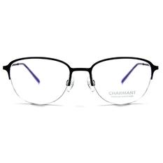 CHARMANT β-鈦 清秀眉架框 ▏霧靛藍