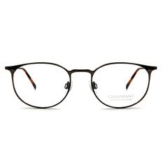 CHARMANT β-鈦 細語橢圓框 ▏棕銅/玳瑁棕