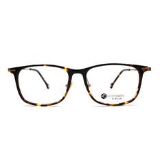 K-DESIGN K PLUS 舒適輕盈系列  ▏燦爛的光輝長方框 古典棕