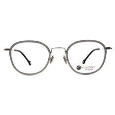 K-DESIGN K PLUS 舒適輕盈系列 ▏輕透微風復潮套圈框 光芒灰