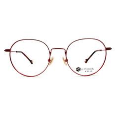 K-DESIGN K PLUS 舒適輕盈系列 ▏純色時代質感圓框 印霜紅