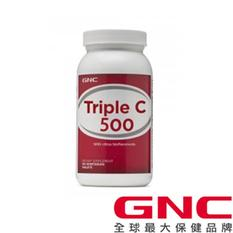 【GNC健安喜】三效維生素C500食品錠90錠)