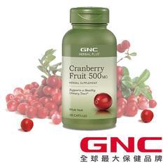 【GNC健安喜】 私密保養 蔓越莓膠囊食品 100顆