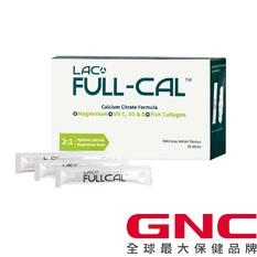 【GNC 健安喜】LAC Full-Cal™優鎂鈣(2.5 公克 /包, 30 包/盒)