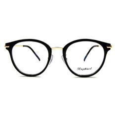 Raphael 深戀巴黎美學時尚梨形框眼鏡♦ 質感黑/金
