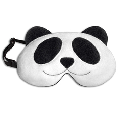 【德國萊思綺Leschi】舒緩疲勞熱敷/冷敷眼罩- 貓熊造型