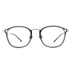 agnès b. 都會質感雙色套圈框 ◆ 丈青/銀