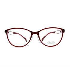 LineArt CHARMANT 優雅奏鳴曲微貓眼框◆薔薇紅