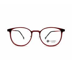 K-DESIGN K PLUS 心機魅惑微貓眼框◆寶石紅