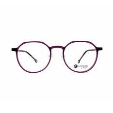 K-DESIGN K PLUS 自然的原色細緻多邊框◆水晶紫
