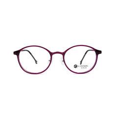 K-DESIGN K PLUS 純真精靈微貓眼框◆沉睡紫