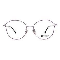 K-DESIGN K PLUS 繽紛樂園輕質貓眼框◆香檳紫