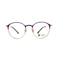 K-DESIGN K PLUS 爵士貓眼復古眉框◆藏金紫