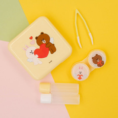LINE FRIENDS | 隱形眼鏡保存盒❤熊大兔兔❤