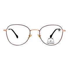 K-DESIGN | LINE FRIENDS◆輕式微貓眼框-古典玫瑰紫(兔兔金鑄)