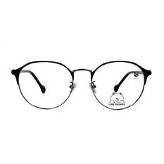 K-DESIGN | LINE FRIENDS◆眉型貓眼框-自信黑(熊大銀鑄)