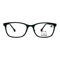 K-DESIGN | LINE FRIENDS◆長方框-青蛙綠/亮黑(熊大銀鑄)