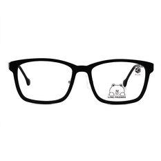 K-DESIGN | LINE FRIENDS◆粗黑方框-熊大特務黑(熊大銀鑄)