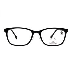 K-DESIGN | LINE FRIENDS◆威靈頓方框-學院黑(熊大銀鑄)