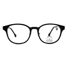 K-DESIGN | LINE FRIENDS◆貓眼粗框-饅頭人科幻黑(熊大銀鑄)