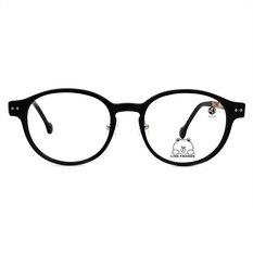 K-DESIGN | LINE FRIENDS◆橢圓粗框-霧黑/透巧黑(兔兔銀鑄)