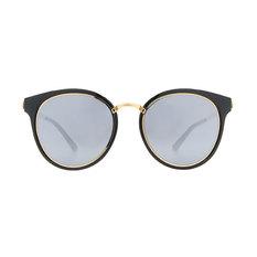 HORIEN 時尚簡約寬版貓眼框♦金緻黑