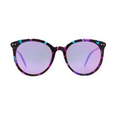 HORIEN 輕彈魅力貓眼框♦派對紫