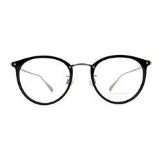CHARMANT β-鈦 金屬魅力貓眼框✦銀霧黑