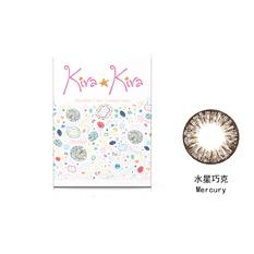 綺娜彩色月拋隱形眼鏡-水星巧克 Mercury(1片裝)