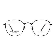 CHARMANT β-鈦 簡約波士頓框 ▏墨潮黑/黑