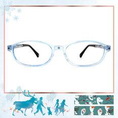 Frozen Ⅱ ★雪寶最怕曬太陽 椭圓框▼活力藍
