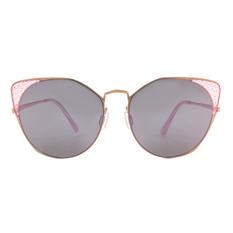 HORIEN 摩登女子菱格貓眼框 ☀ 絢爛紫