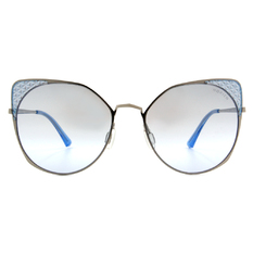 HORIEN 摩登女子菱格貓眼框 ☀ 琉璃藍