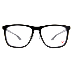 PUMA l 街頭帥氣 威靈頓框眼鏡 l 鎧甲黑