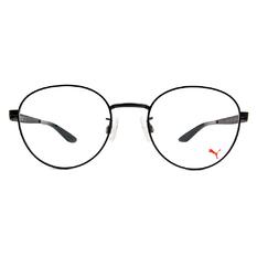 PUMA l 打破框眼鏡架 圓框眼鏡 l 霧面黑