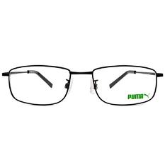 PUMA l 領袖風眼鏡尚 方框眼鏡 l 鋼琴黑