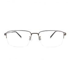 CHARMANT  透視曲線方型眉框 ▏粹煉銀