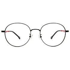 K-DESIGN KREATE 玩美跳色精緻圓框🎨 黑/璀璨紅