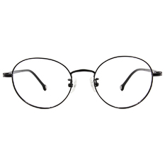 K-DESIGN KREATE 質感撞色圓框🎨 單純黑