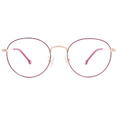 K-DESIGN KREATE l 廣告款眼鏡 l 任性玩色梨圓框眼鏡🎨 蜜桃紅
