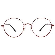 K-DESIGN KREATE 復古格調大圓框🎨 金屬紅