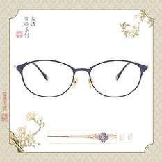 故宮|后妃系列♛艷冠群芳 (花香妃翼款) 蝴蝶藍