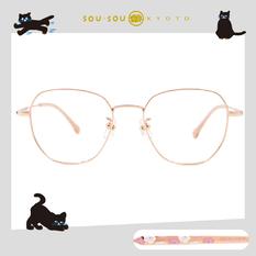 SOU・SOU l 微笑日常 多邊框眼鏡✿玫瑰金