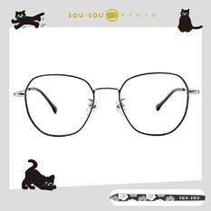 SOU・SOU l 微笑日常 多邊框眼鏡✿珠光藍