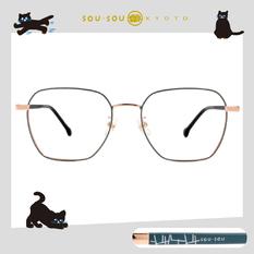 SOU・SOU l 細數鳶鳥 大方框眼鏡✿蘋果綠