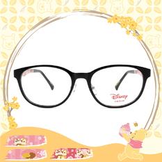 Disney-粉萌季 l 奇奇蒂蒂黏踢踢 橢圓框眼鏡 鋼琴黑